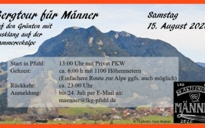 Bergtour für Männer | Sa. 15. August