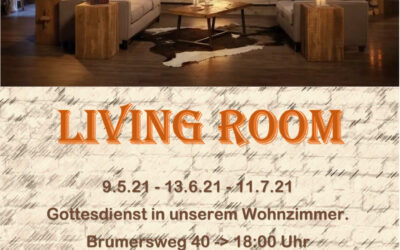 Living Room | 9. Mai – 18 Uhr