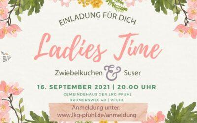 Ladies Time | 16.09.2021